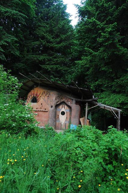 Cob Sauna - 2012