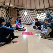 Cypher Cure in the yurt